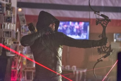 "ARROW, EPISODIO 2X10 ""BLAST RADIUS"""