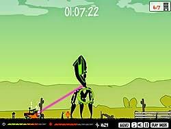 Người ngoài hành tinh xâm nhập, game hanh dong