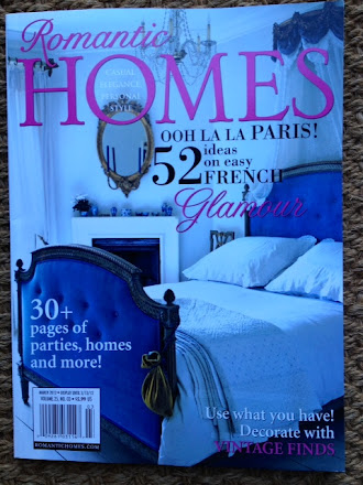 published in Romantic Homes March 2012