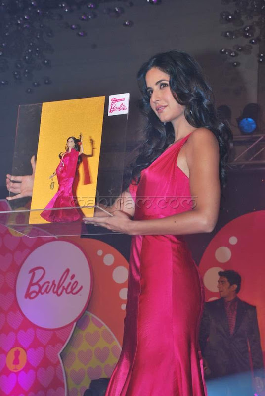 Katrina kaif launches barby doll photos  show