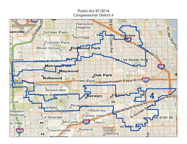 Will County Politics Maps Of Illinois Congressional