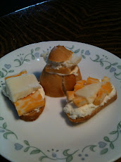 Jenny's Three-Cheese Sandwiches