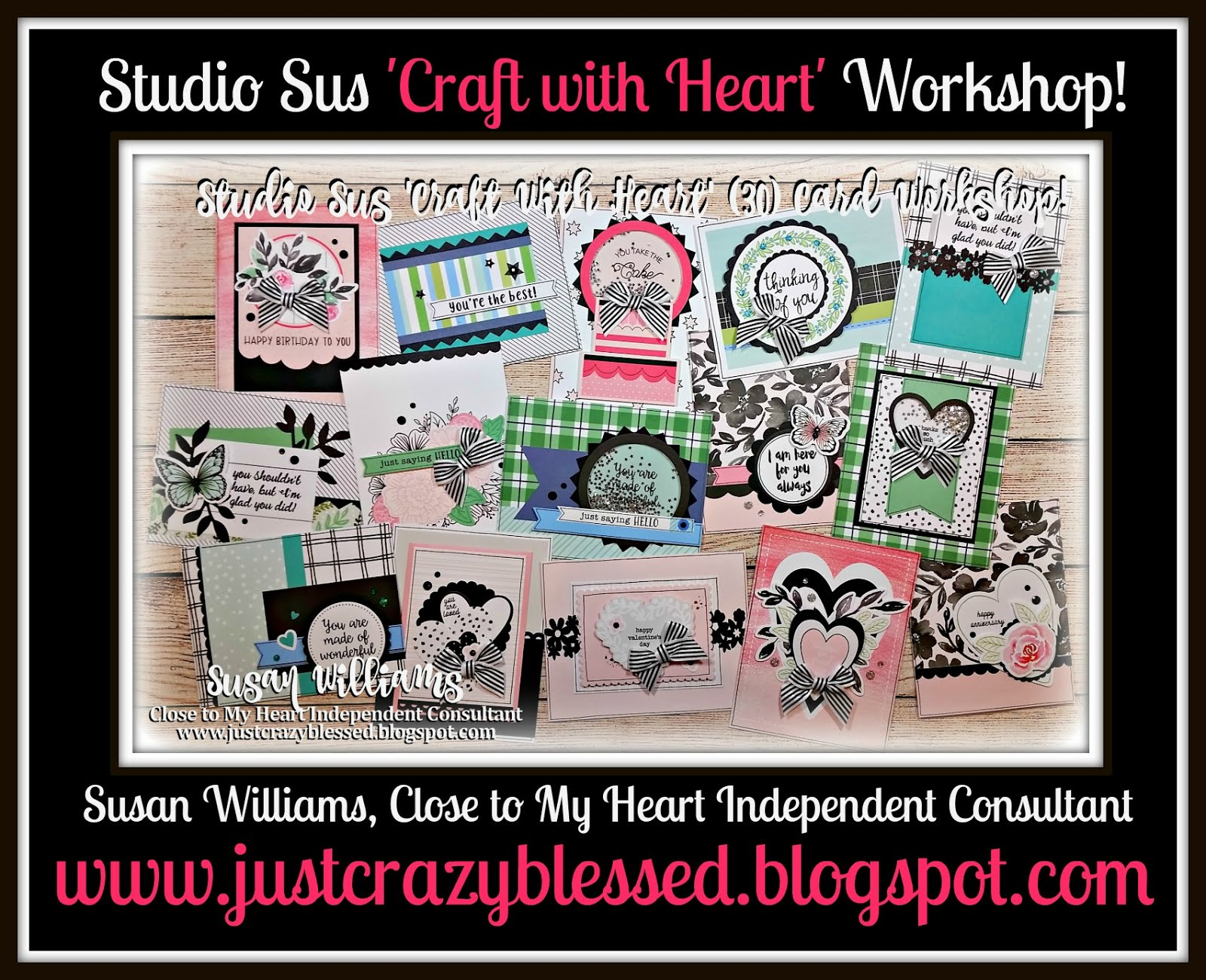Craft with Heart Cardmaking Workshop!