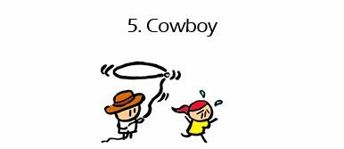 Los 5 mejores empleos para conocer chicas - cowboy