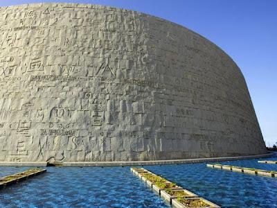 Bibliotheca Alexandrina di Alexandria, Mesir
