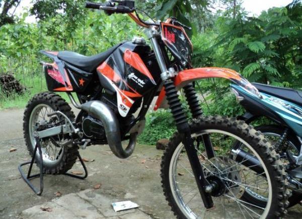Modif Trail Yamaha Cripton