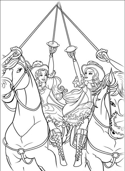 barbie and the three musketeer coloring pages free coloring rh coloringpages printables blogspot com barbie spy squad colouring pictures barbie spy squad colouring