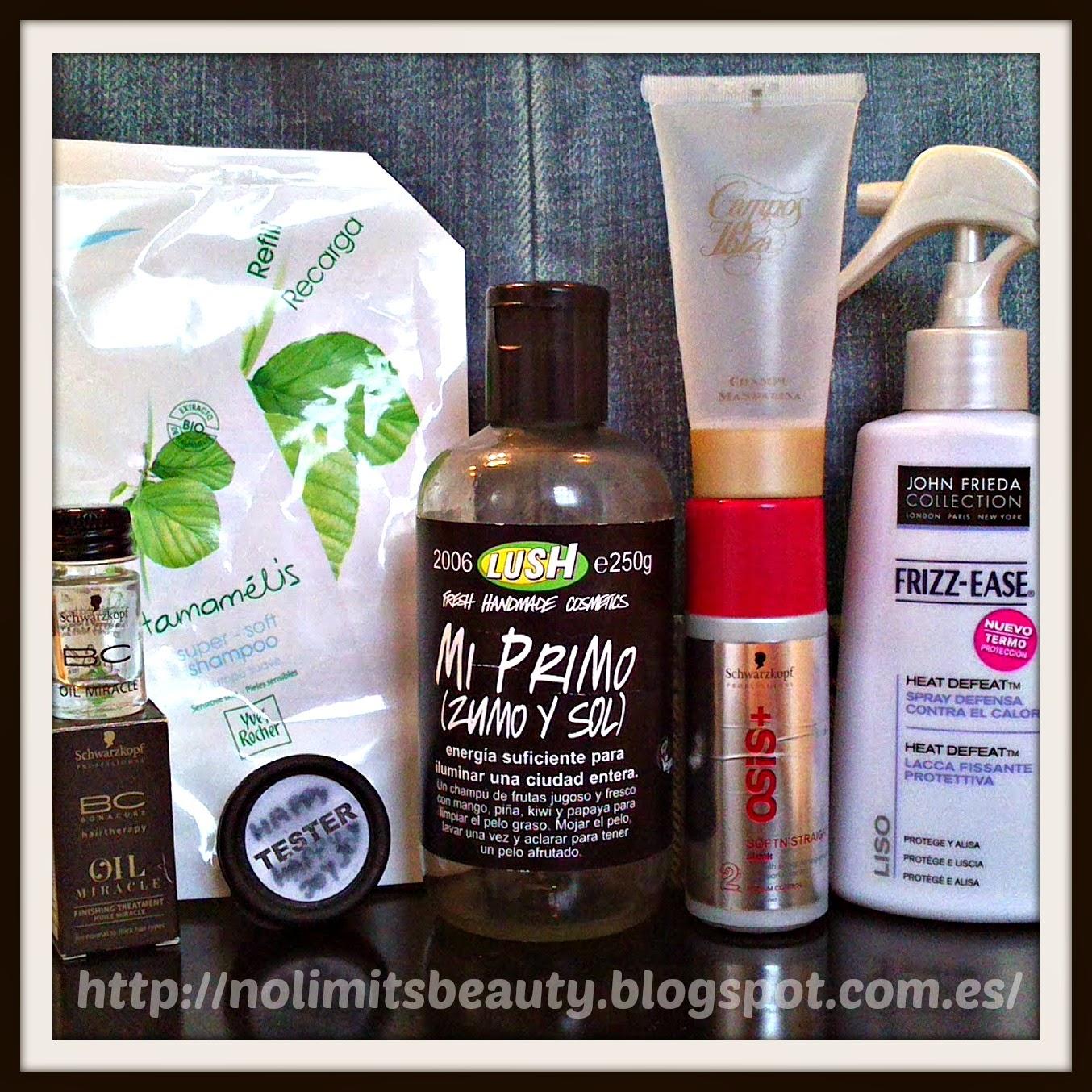 Productos terminados (vol.11): especial cabello