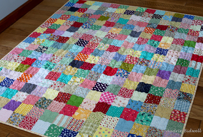 Blue is Bleu: One More Patchwork Quilt For The Road : how to make patchwork quilt - Adamdwight.com