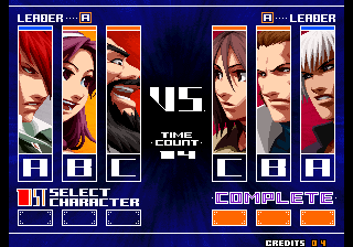 the king of fighters 2003 gameplay