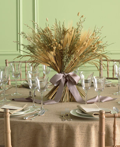 Straw and Wheat Austin Wedding Blog There are several centerpiece ideas on