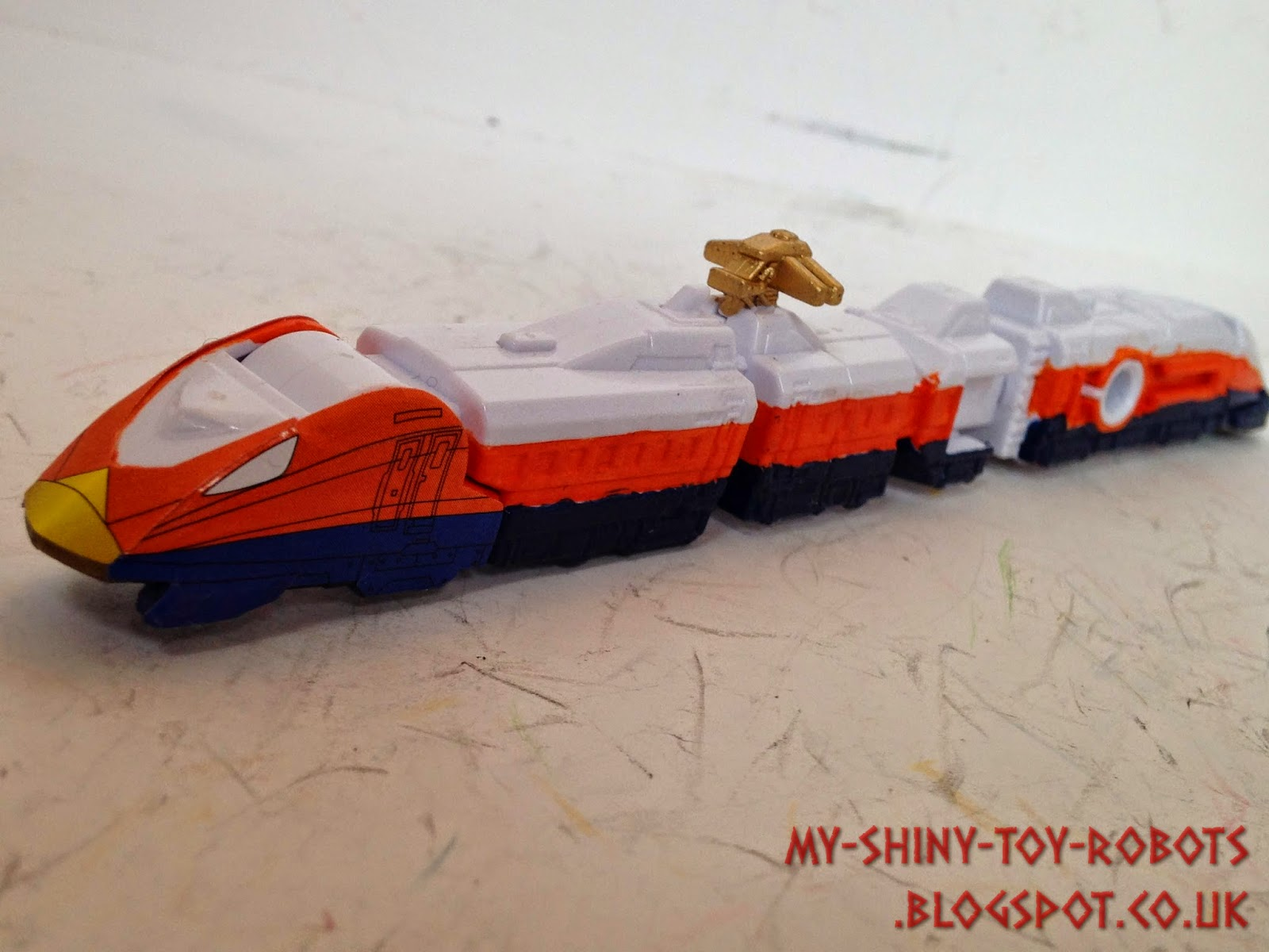 Eagle Ressha front view