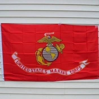 USMC House Flag