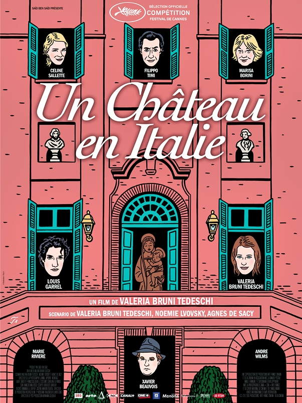 Póster de Un château en Italie, de Valeria Bruni-Tedeschi