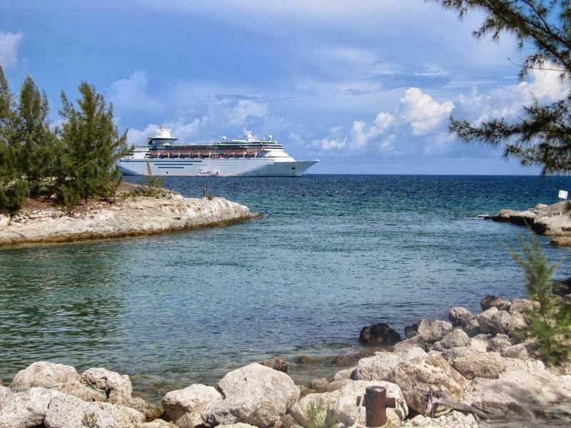 Monarch of the seas, Coco cay, cayo Norman, Little Stirrup, islas Berry, playas del caribe, playas de Bahamas