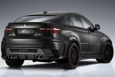 redesigned BMW X6M