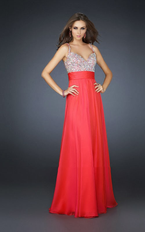 La Femme 16802 Prom Dress Long 2014