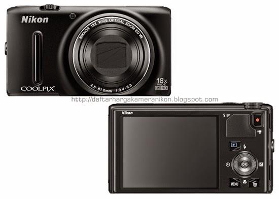 Harga dan Spesifikasi Kamera Nikon Coolpix S9400