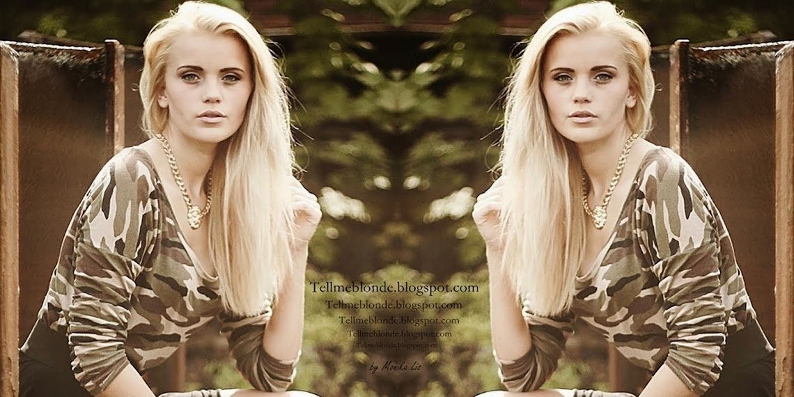 Tell me blonde