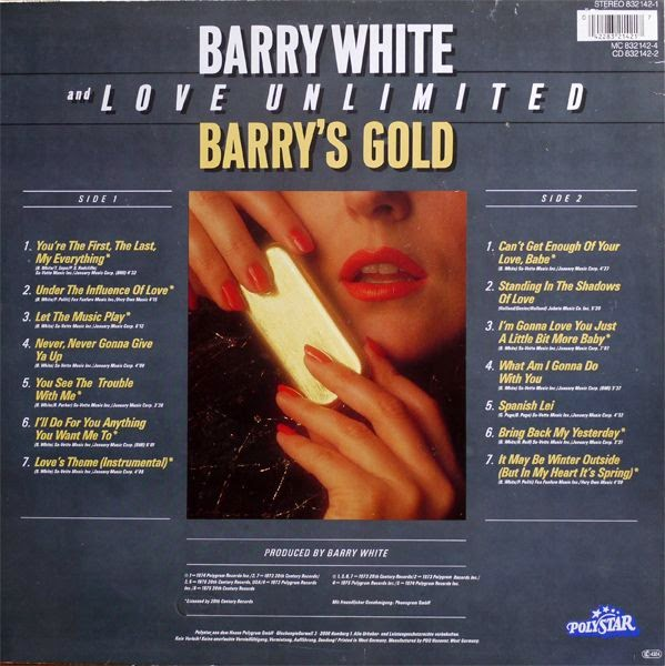 Let the Music Play - Barry White | Songs, Reviews, Credits