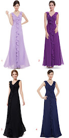 4-Color Sleeveless Front Y-Shape Ruffle Maxi Dress