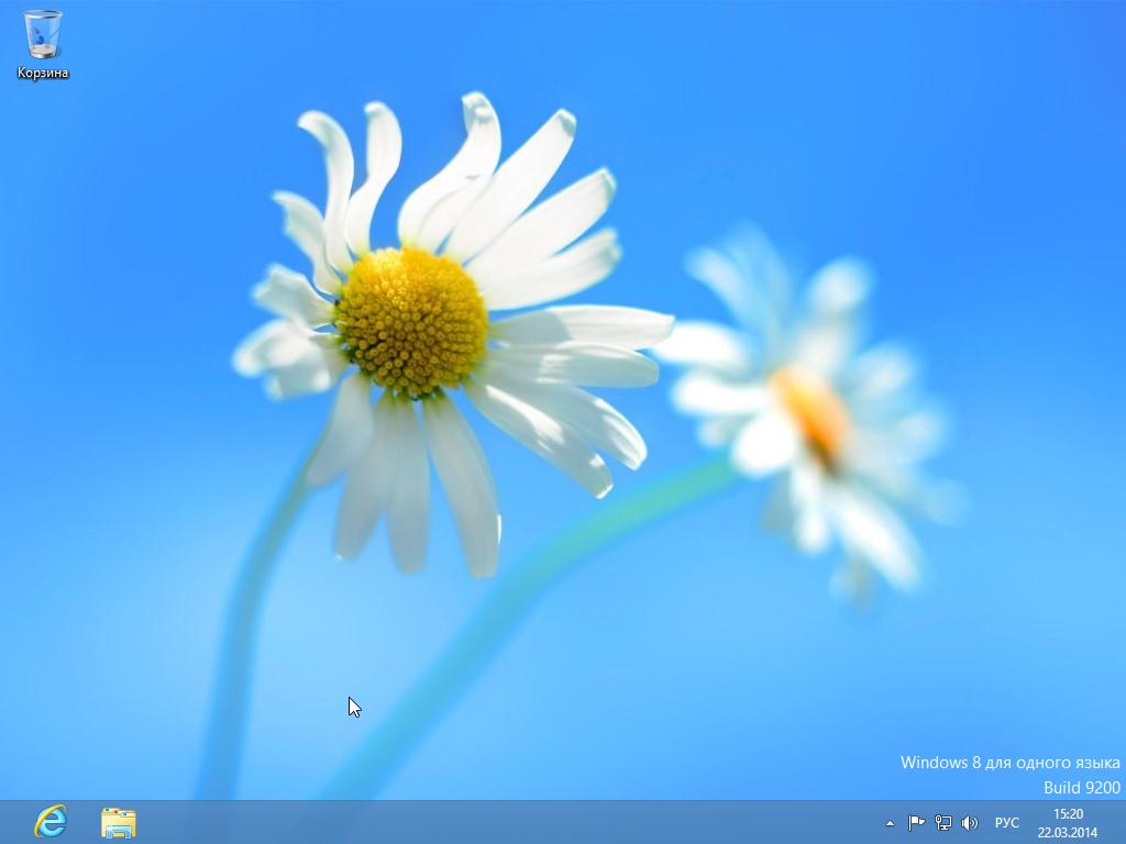35_Установка Windows 8 - Рабочий стол после установки.png