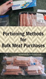 bulk meat portioning