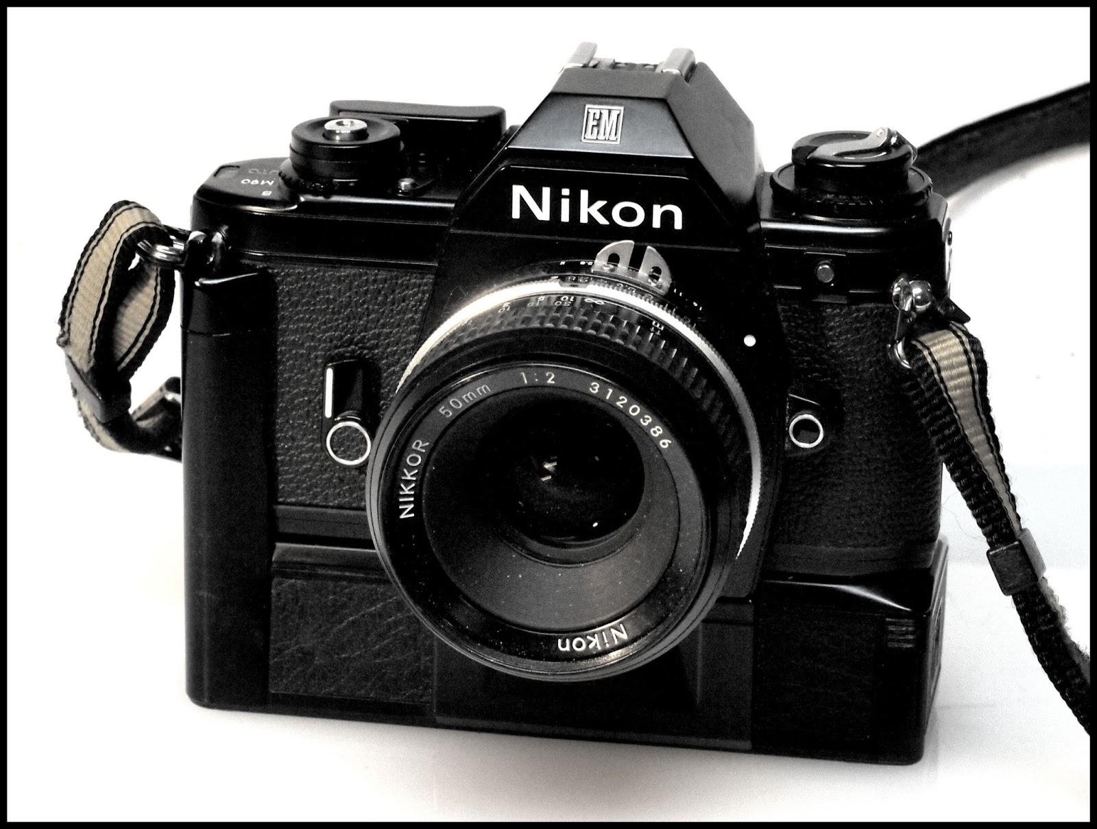 random camera blog the little slr that could the nikon em rh randomphoto blogspot com nikon em film camera manual Nikon EM User Manual