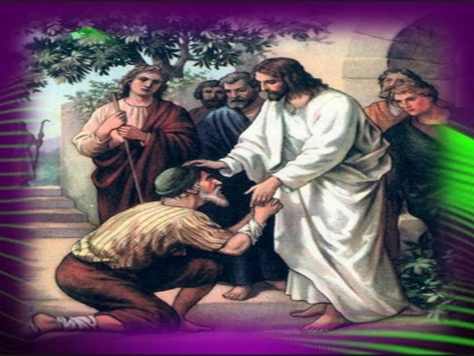 Jesus Heals Man With Withered Hand