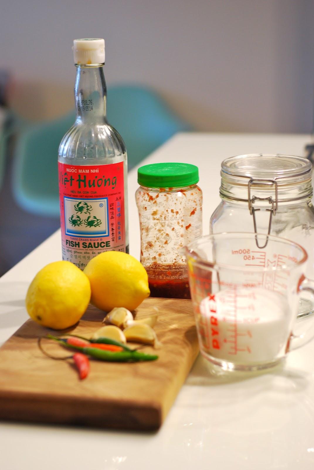 N c m m mixed fish sauce haonoah for Fish sauce ingredients