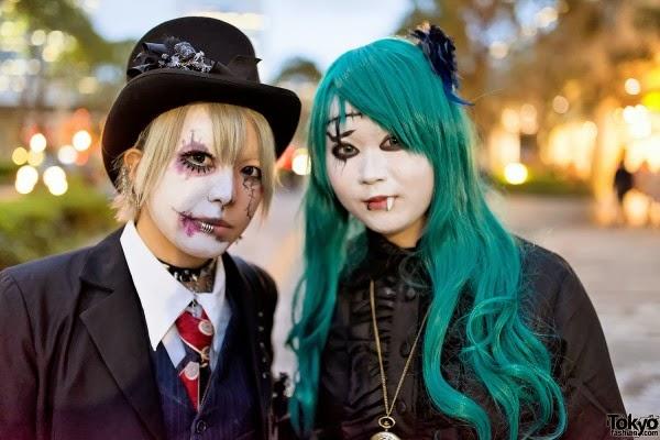 Harajuku style Halloween