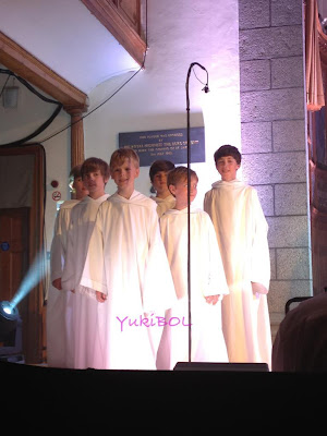 Picture of Eoghan Mccharty and Libera boys.