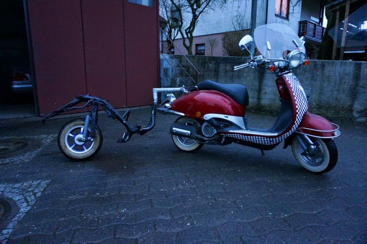 scooter service deutschland einradanh nger f r retro roller. Black Bedroom Furniture Sets. Home Design Ideas