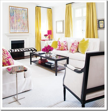 We Can Even Mix Up These Pretty Bright Home Accessries With Very Neutral Room Or Wall