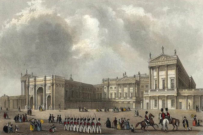 Nash Oversaw The Remodeling Of Buckingham House To Create Buckingham