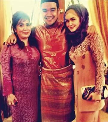 Gambar Siti Nurhaliza dan Tengku Zawiyah