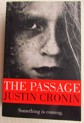 bookandacuppa, book and a cuppa, book & a cuppa, The Girl from Nowhere, The Passage, book cover, creepy girl, vampire, Justin Cronin, black and white, photograph, horror, child, scary