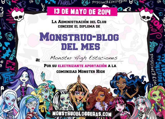 Somos monstruoblogger@s del mes de mayo¡¡