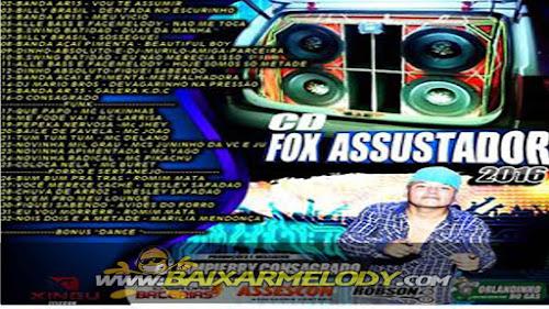 Cd Foxx Assustador-dj Jampierry Consagrado ( Melody, Funk Sertanejo, Forro, E Dance)