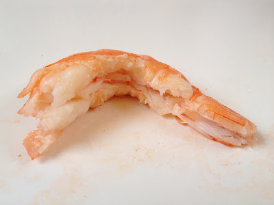 how to devein king prawns