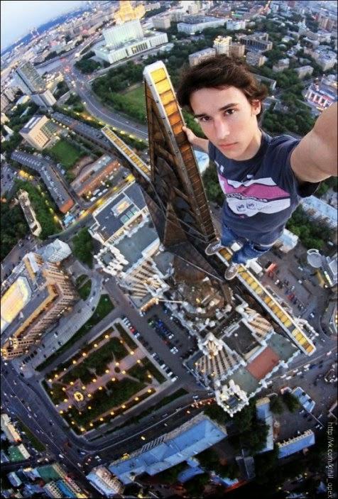 Foto Selfie Terekstrem