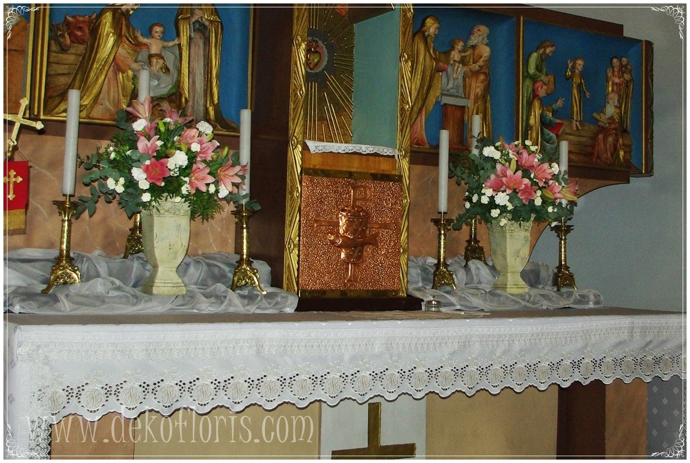 dekoracje ślubne kościoła opolskie, Opole, Brzeg, Olesno, Niemodlin, Ozimek, Nysa, Prudnik