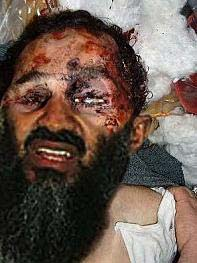 Osama Bin laden dead May 2011,  Fake death photo, Osama Bin laden death photo hoax, superimposed death photo of Osama bin laden