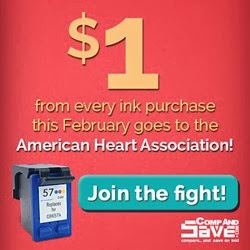CompAndSave.com donate to the American Heart Association