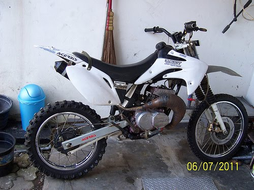 Modif Trail Yamaha Force 1