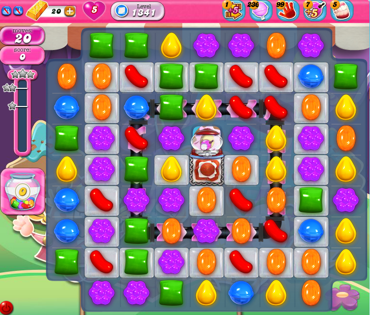 Candy Crush Saga 1341