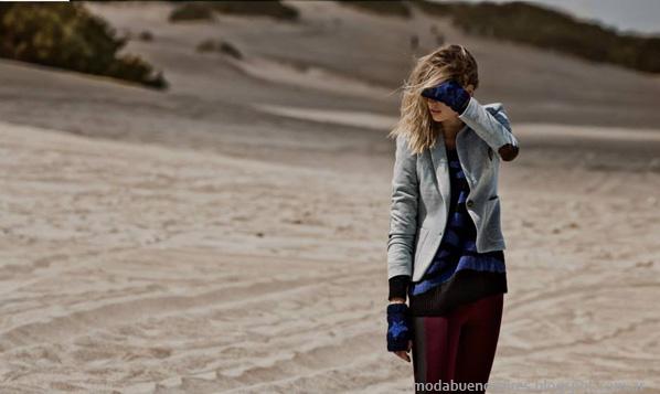 System otoño invierno 2014 ropa de mujer casual urbana y abrigos. Moda otoño invierno 2014.