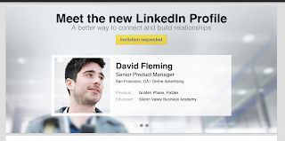 Meet the New LinkedIn Profile - blurring, bokeh effect