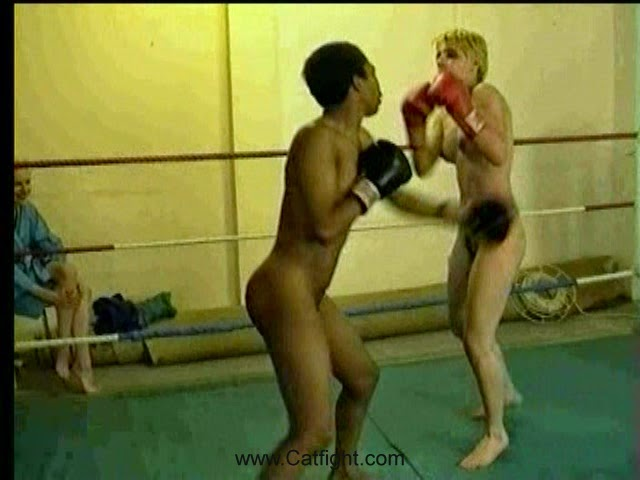 Interesting. Action girls boxing topless can not