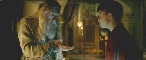 {Contos de HP}: Dumbledore e Harry Através da Penseira